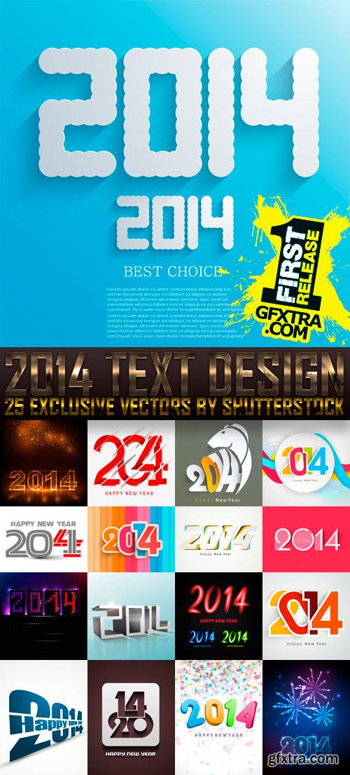 Amazing SS - 2014 Text Design, 25xEPS