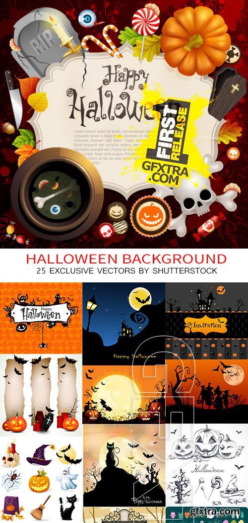 Amazing SS - Halloween background, 25xEPS