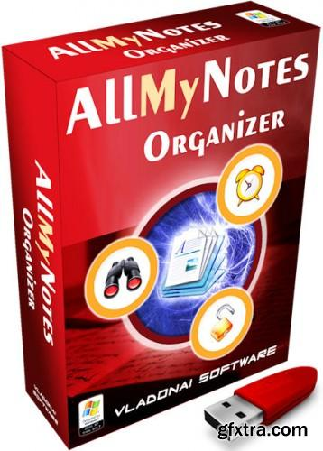 AllMyNotes Organizer Deluxe 2.75 Build 561 Final + Portable