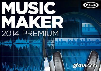 MAGIX Music Maker 2014 Premium 20.0.2.35