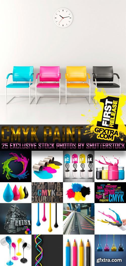 Amazing SS - CMYK Paint, 25xJPGs