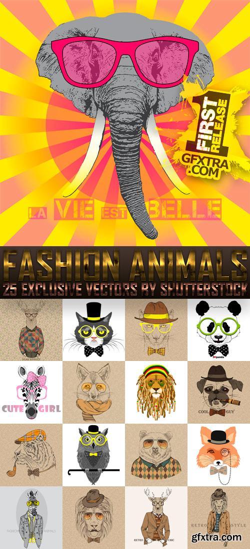 Amazing SS - Fashion Animals, 25xEPS