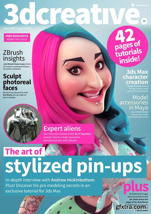 3DCreative - Issue 096 August 2013 HQ