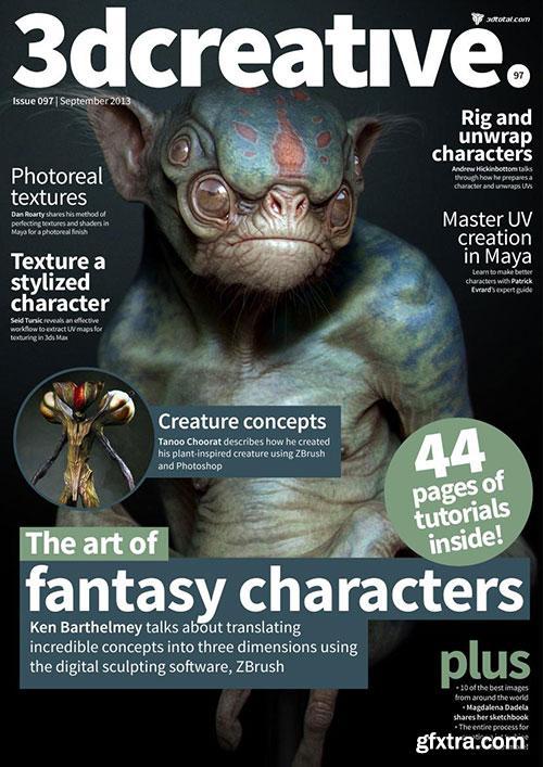 3DCreative Magazine - Issue 097 September 2013 HQ