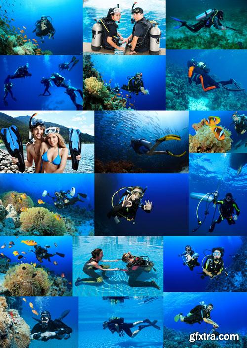 Diving Collection, 25 UHQ JPEG