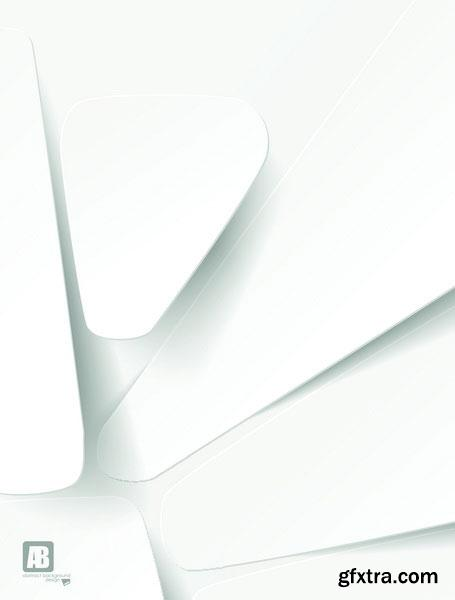 Abstract 3D Paper 25xEPS