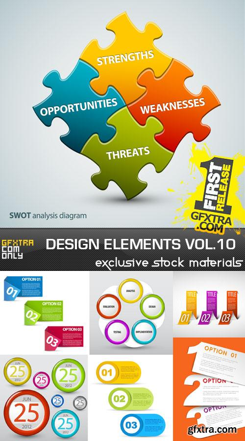 Collection of vector design elements vol.10