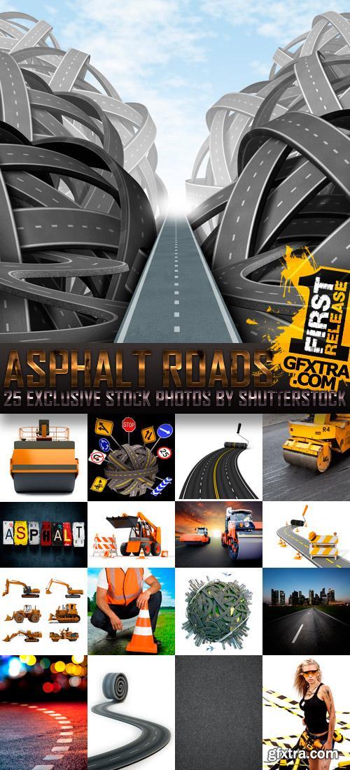 Amazing SS - Asphalt Roads, 25xJPGs