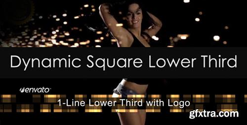 VideoHive Dynamic Square Lower Third