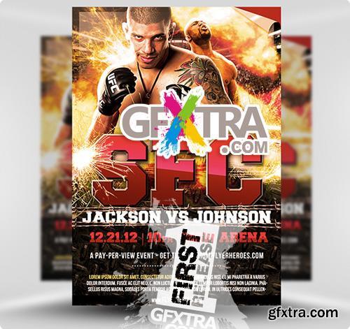 MMA / UFC Fight Night Flyer Template