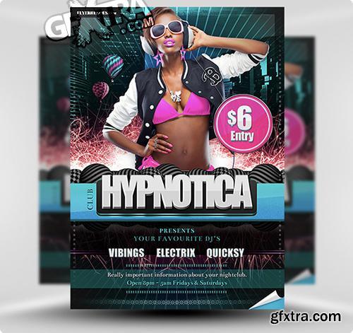 Hypnotica Flyer Template