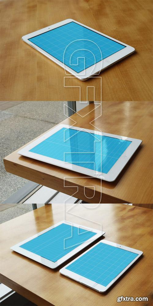 3 iPad and iPad Mini Mockups