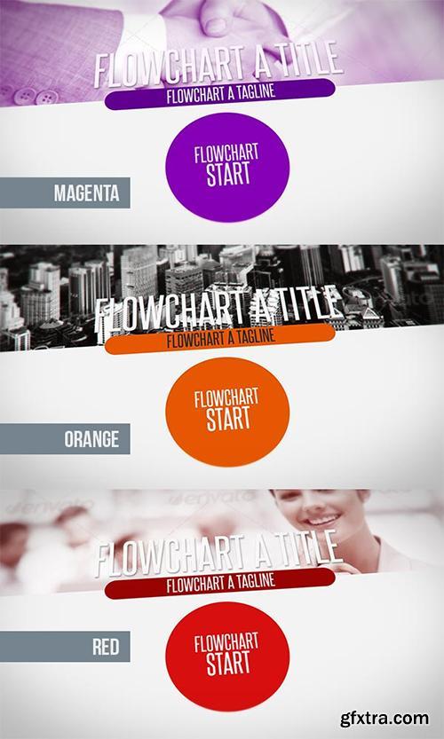 Videohive Flowchart Diagrams Pack