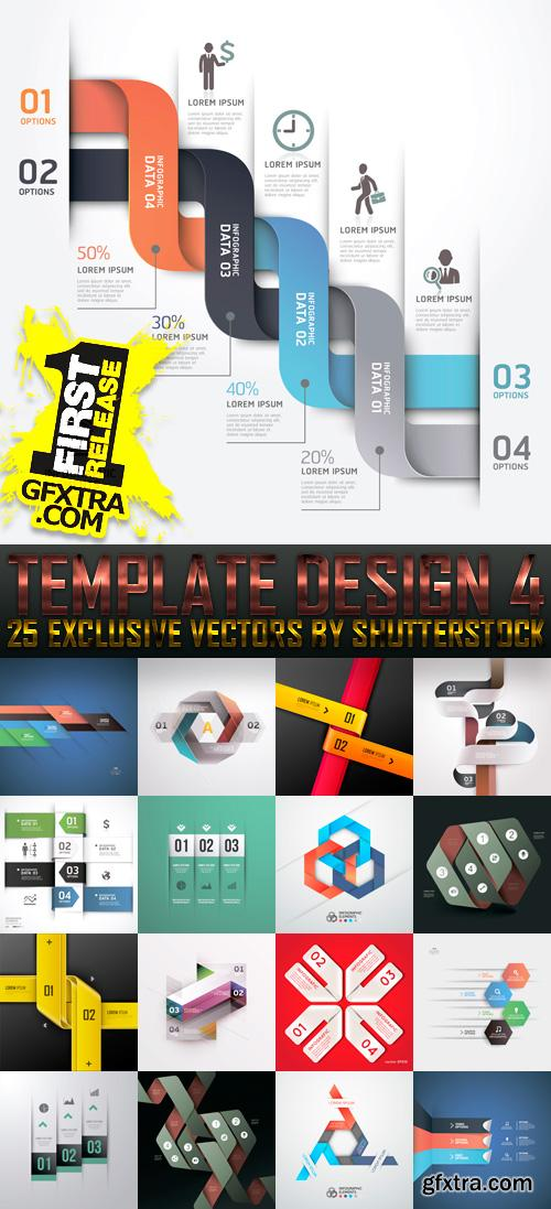 Amazing SS - Template Design 4, 25xEPS