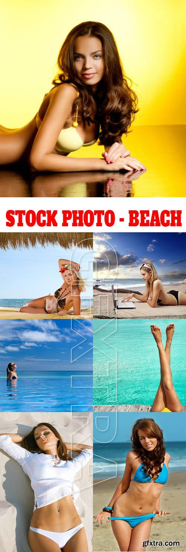 Stock Photo - Beach
