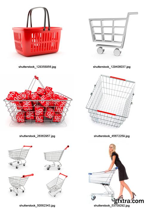 Amazing SS - Shopping Baskets, 25xJPGs