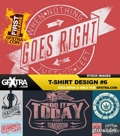 T-Shirt Design #6 - 25xEPS