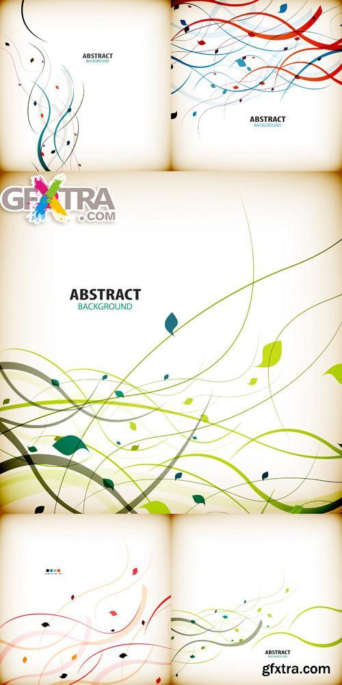 Abstract Bakcgrounds#43 - 5 Vector