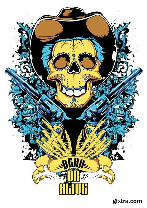 T-Shirt Design #7 - 50xEPS