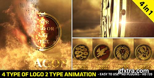 Videohive Fire Logo Reveal 4341671