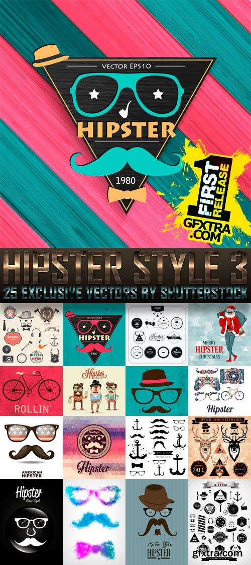 Amazing SS - Hipster Style 3, 25xEPS