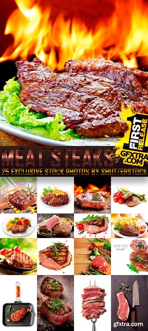 مصممين الدعايه والاعلان لحمة مشوية Meat Steaks موقع shutterstock مباشر,بوابة 2013 1381675801_meat-stea