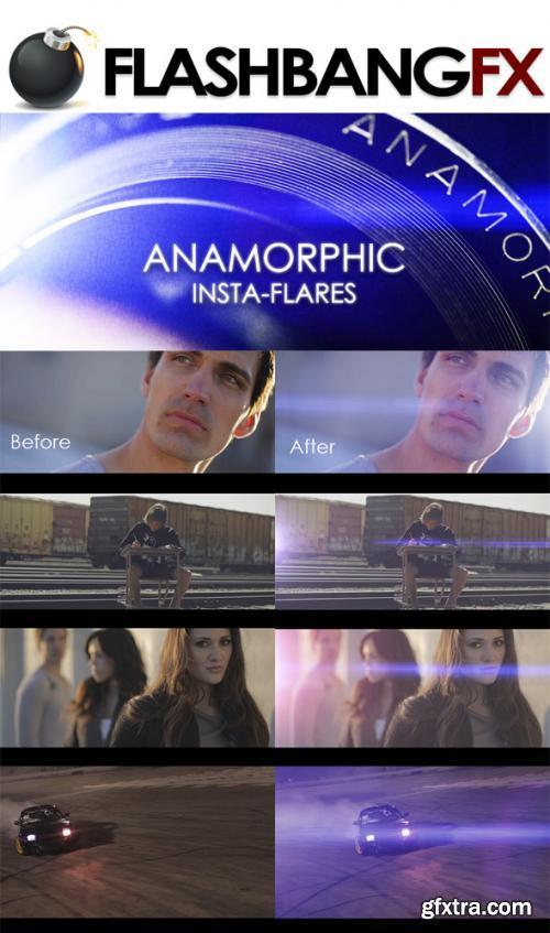 Anamorphic Insta-Flares 4K 30 Pack