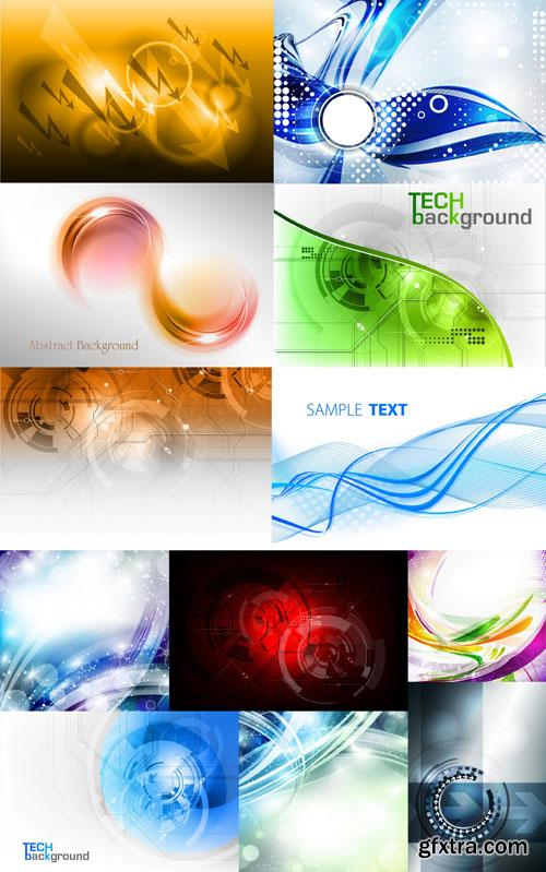 Collection of Vector Abstract Backgrounds Vol.32, 25xEPS