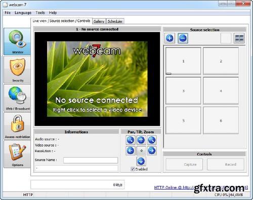 webcam 7 PRO 1.0.9.0 Build 38140