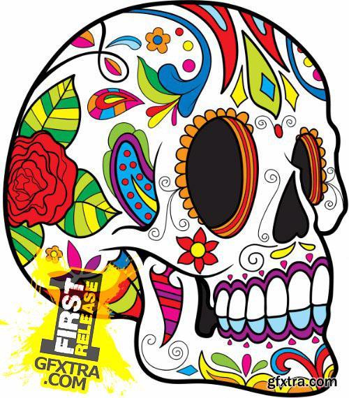 Skulls Pack 1 (Vector - StockPhoto)