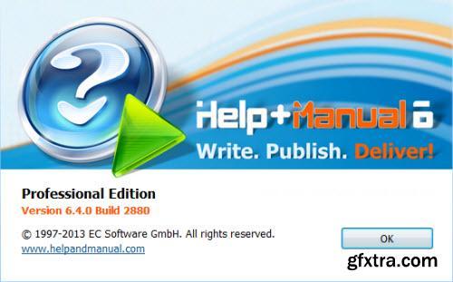 Help & Manual Professional 6.4.0 Build 2880 Portable