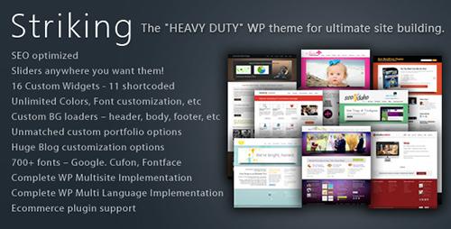 ThemeForest - Striking v5.2.2 - Premium Corporate & Portfolio WP Theme