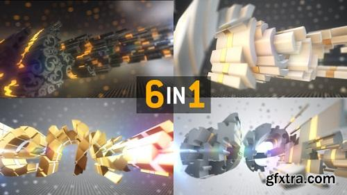 Videohive - Sliced Logo Text Element 3d Reveal 4903737