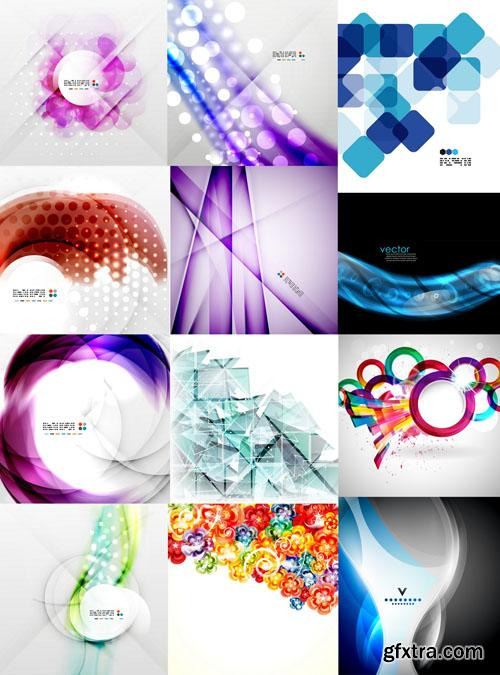 Collection of Vector Abstract Backgrounds Vol.34, 25xEPS