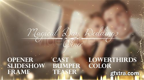 Videohive Magical Day Weddings Pack