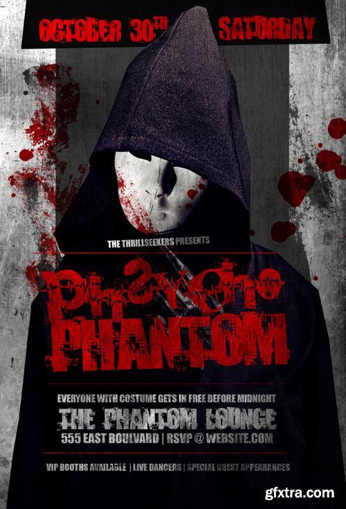 Pscycho Phantom Flyer Template