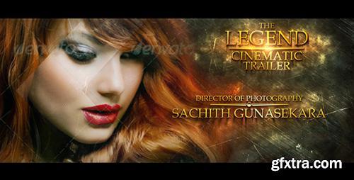Videohive The Legend Cinematic Trailer