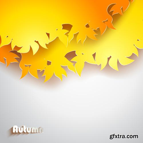 Autumn Backgrounds - 25xEPS