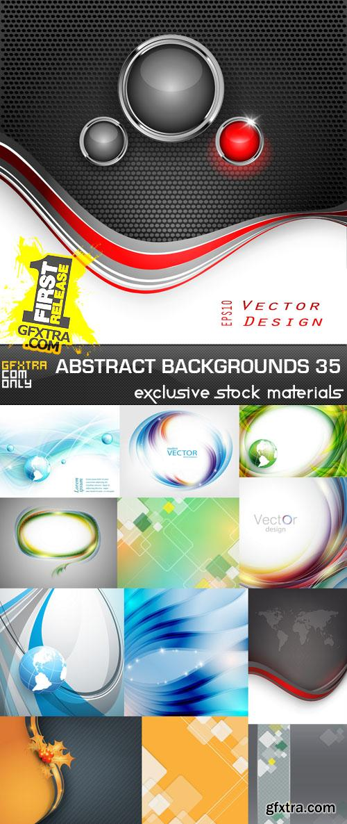 Collection of Vector Abstract Backgrounds Vol.35, 25xEPS