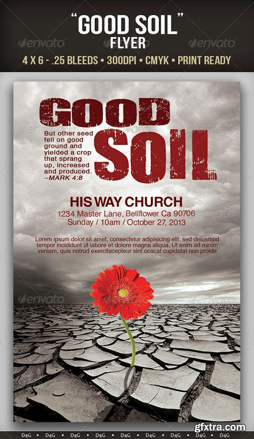 GraphicRiver - Good Soil Flyer Template