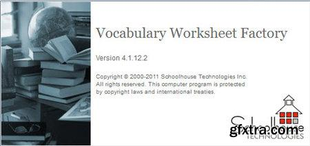 Schoolhouse Technologies Vocabulary Worksheet Factory 4.1.17.0