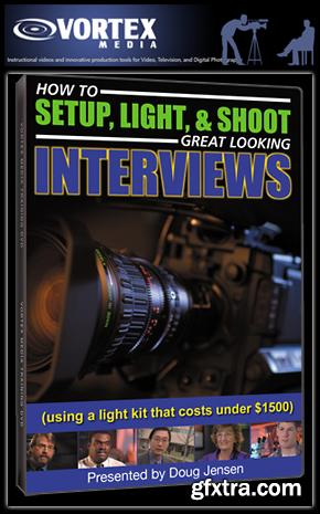 Doug Jensen and Vortex Media: How to Setup, Light and Shoot Great Looking Interviews
