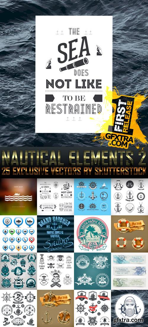 Amazing SS - Nautical Elements 2, 25xEPS