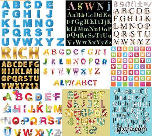 Alphabet Collection, 25xEPS