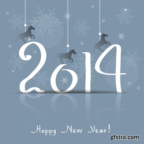 New Year of the Horse 2014, 24xEPS, AI