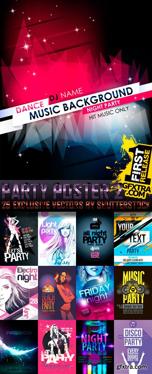 Amazing SS - Party Poster 2, 25xEPS