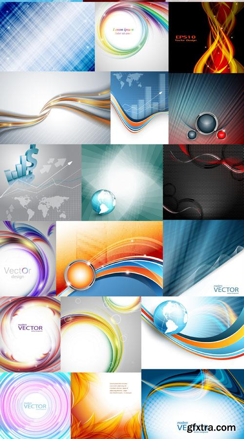 Collection of Vector Abstract Backgrounds Vol.37, 25xEPS