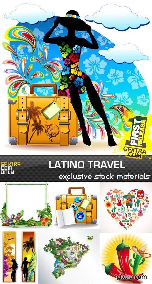 Latino Travel, 25xEPS, AI