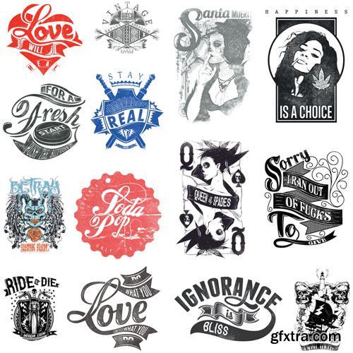 T-Shirt Design #10 - 25xEPS
