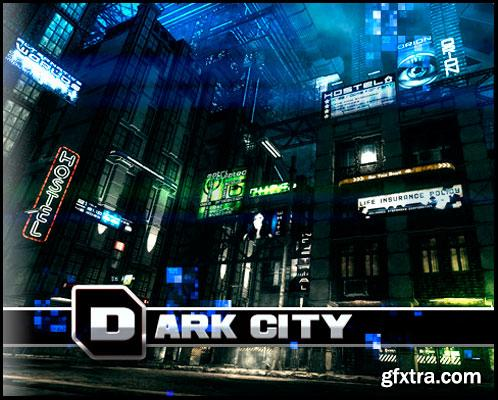 3D Model Dark City